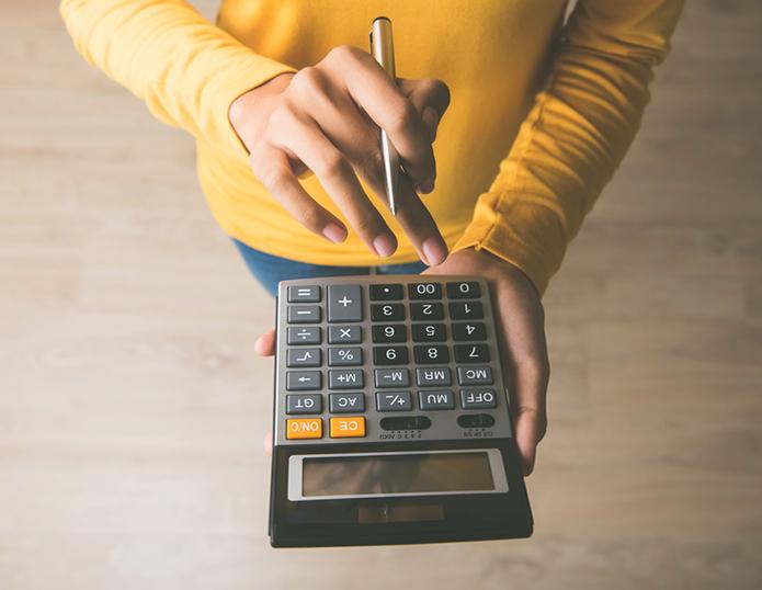 Taschenrechner Rechnung